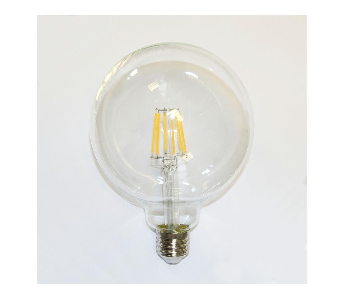 Immax LED žárovka FILAMENT E27/8W/230V G120 IM0075