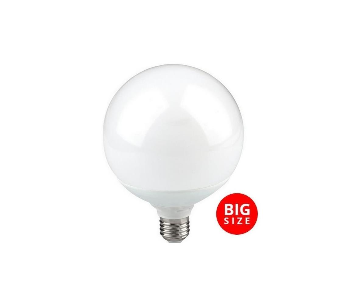 Polux LED Žárovka G125 E27/16W/230V 3000K