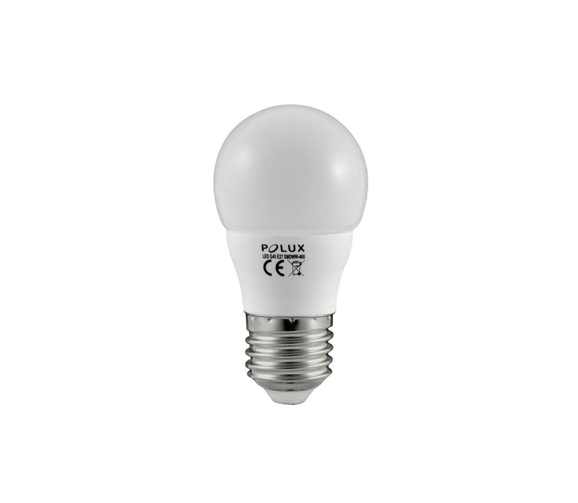 Polux LED žárovka G45 E27/4,5W/230V 3000K