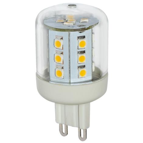 LED žárovka G9/2,6W LED23 SMD studená bílá - GXLZ127