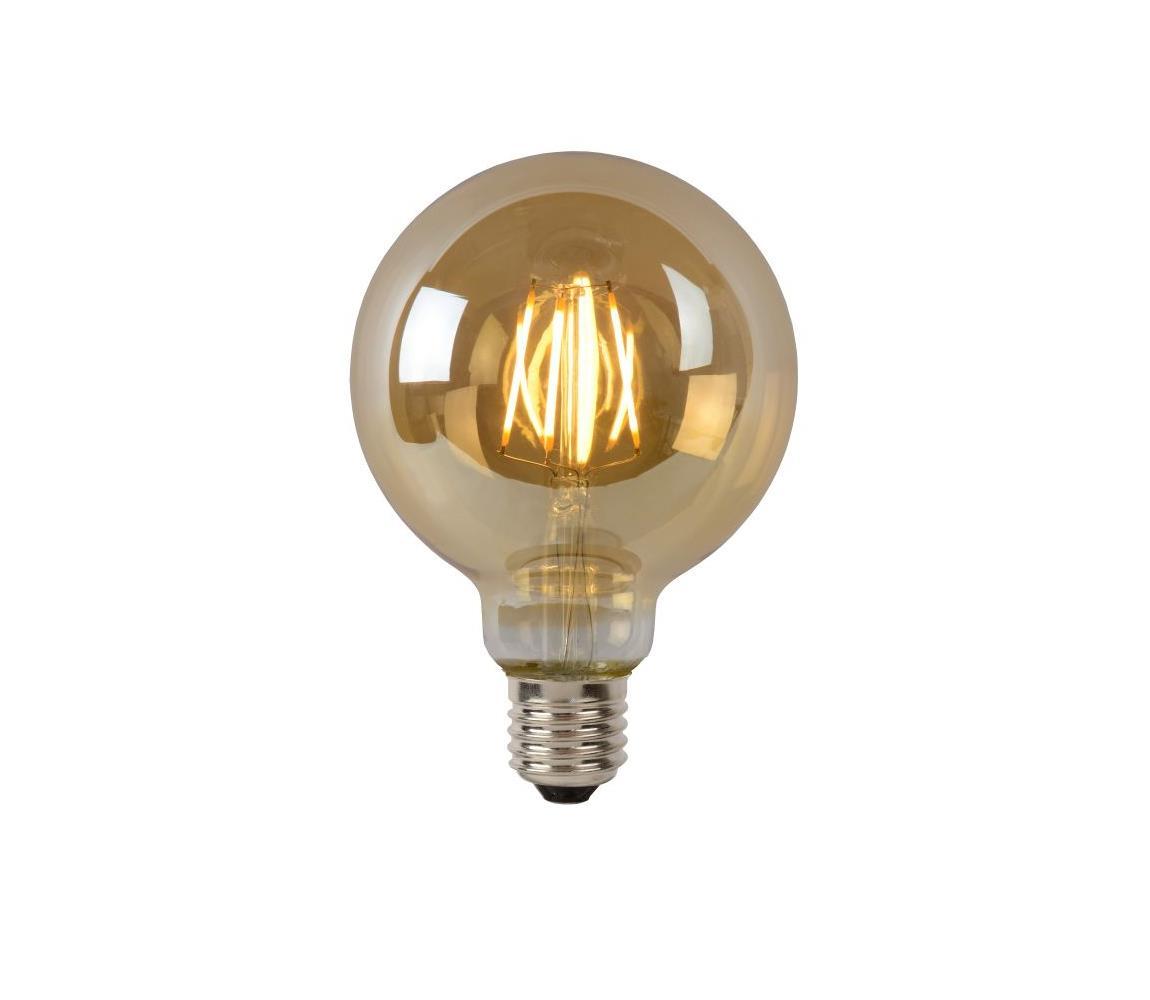 Lucide LED žárovka G95 E27/5W/230V