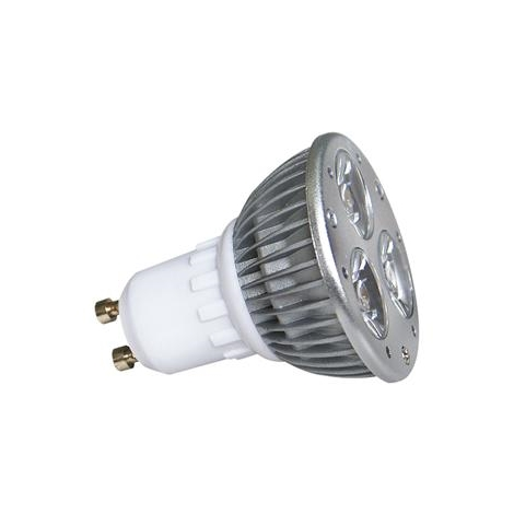 LED žárovka LED POWER GU10/3W  studená bílá - GXLZ009