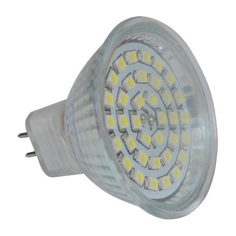 LED žárovka LED36 SMD MR16/4W/12V CW - GXLZ104