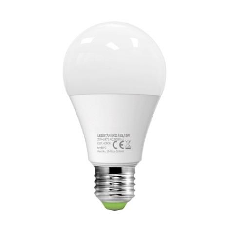 LED Žárovka LEDSTAR A65 E27/15W/230V 3000K