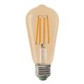 LED Žárovka LEDSTAR AMBER ST64 E27/10W/230V 2200K
