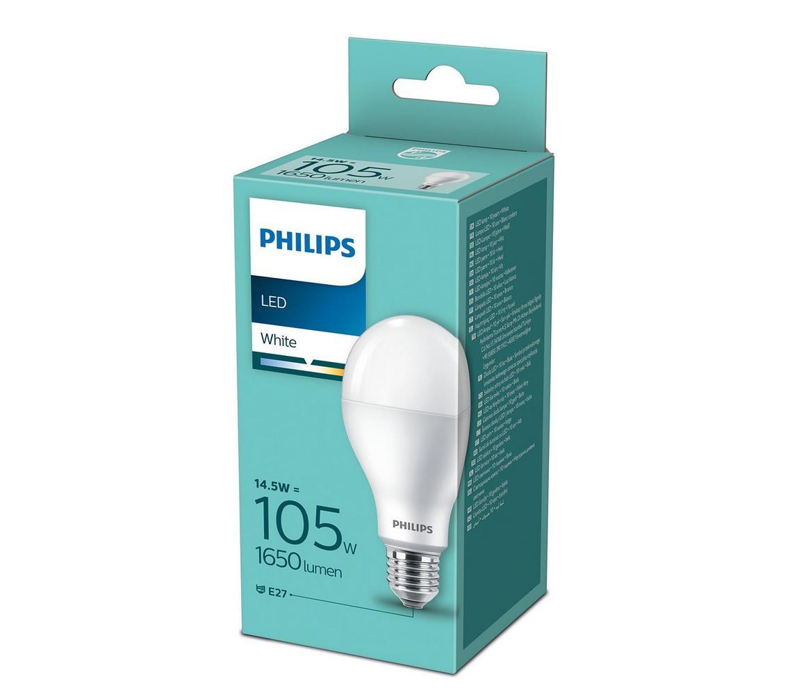 Philips LED Žárovka Philips A67 E27/14,5W/230V 3000K