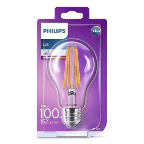 LED Žárovka Philips A70 E27/11W/230V 4000K