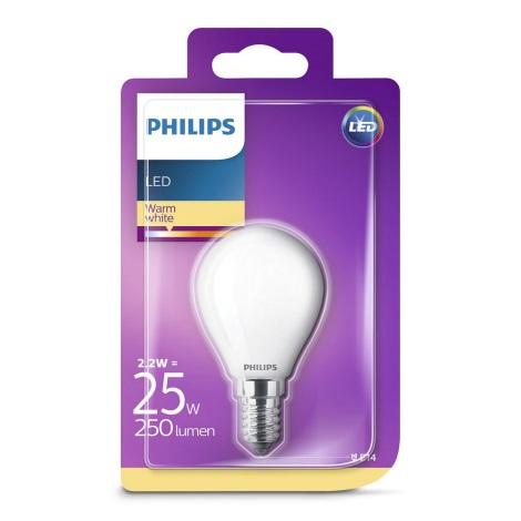 LED Žárovka Philips E14/2,2W/230V