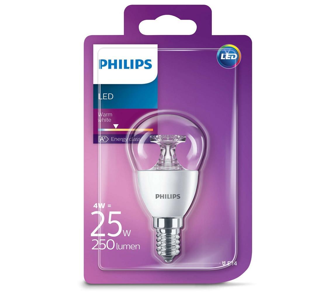 Philips LED žárovka Philips E14/4W/230V 2700K