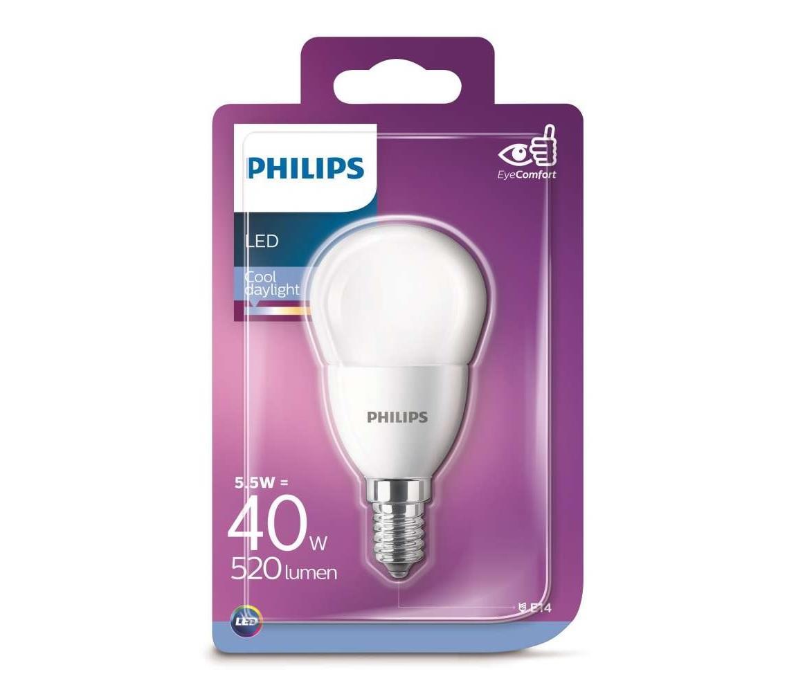 Philips LED Žárovka Philips E14/5,5W/230V 6500K