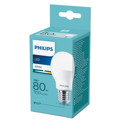 LED Žárovka Philips E27/11W/230V 3000K