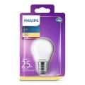 LED Žárovka Philips E27/2,2W/230V
