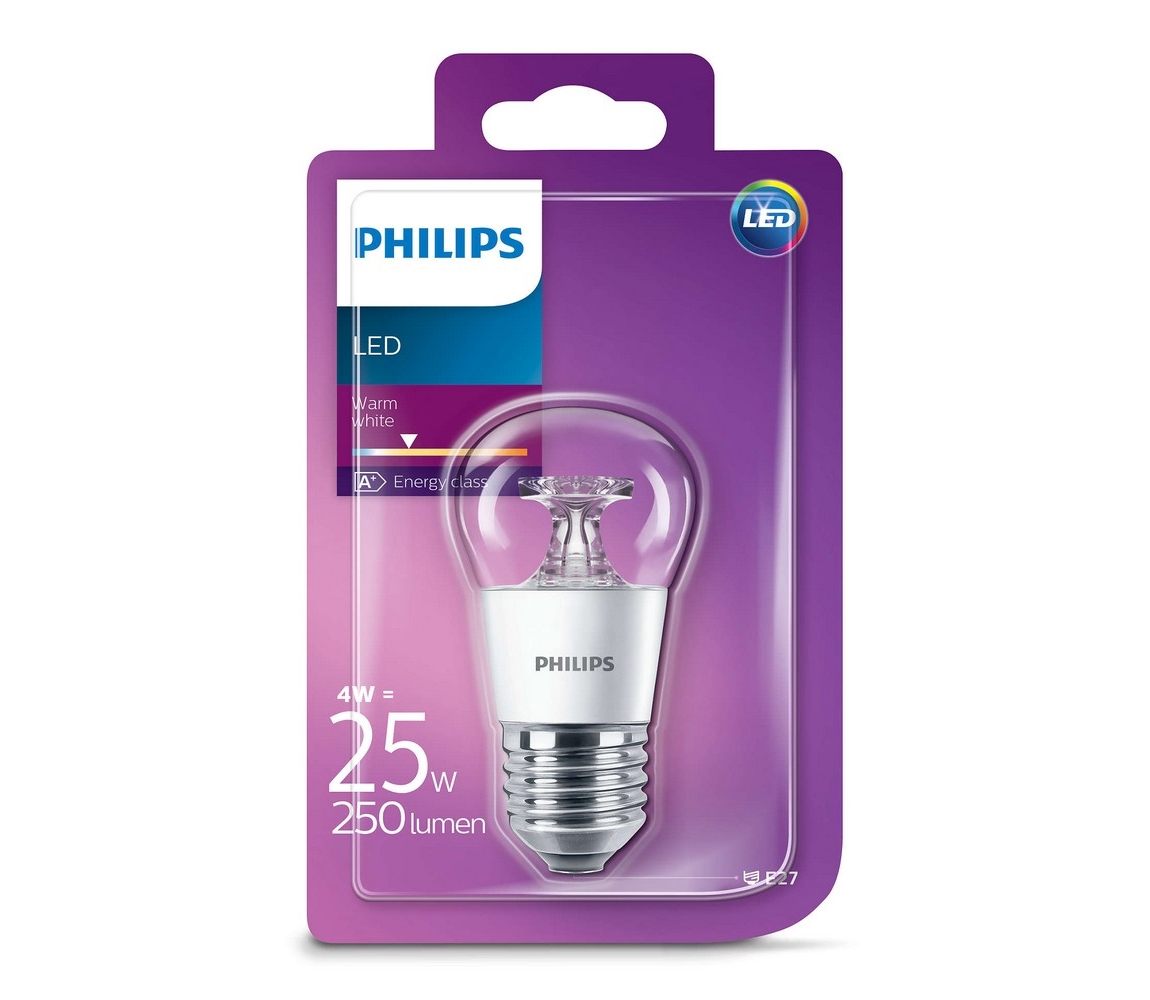 Philips LED žárovka Philips E27/4W/230V 2700K