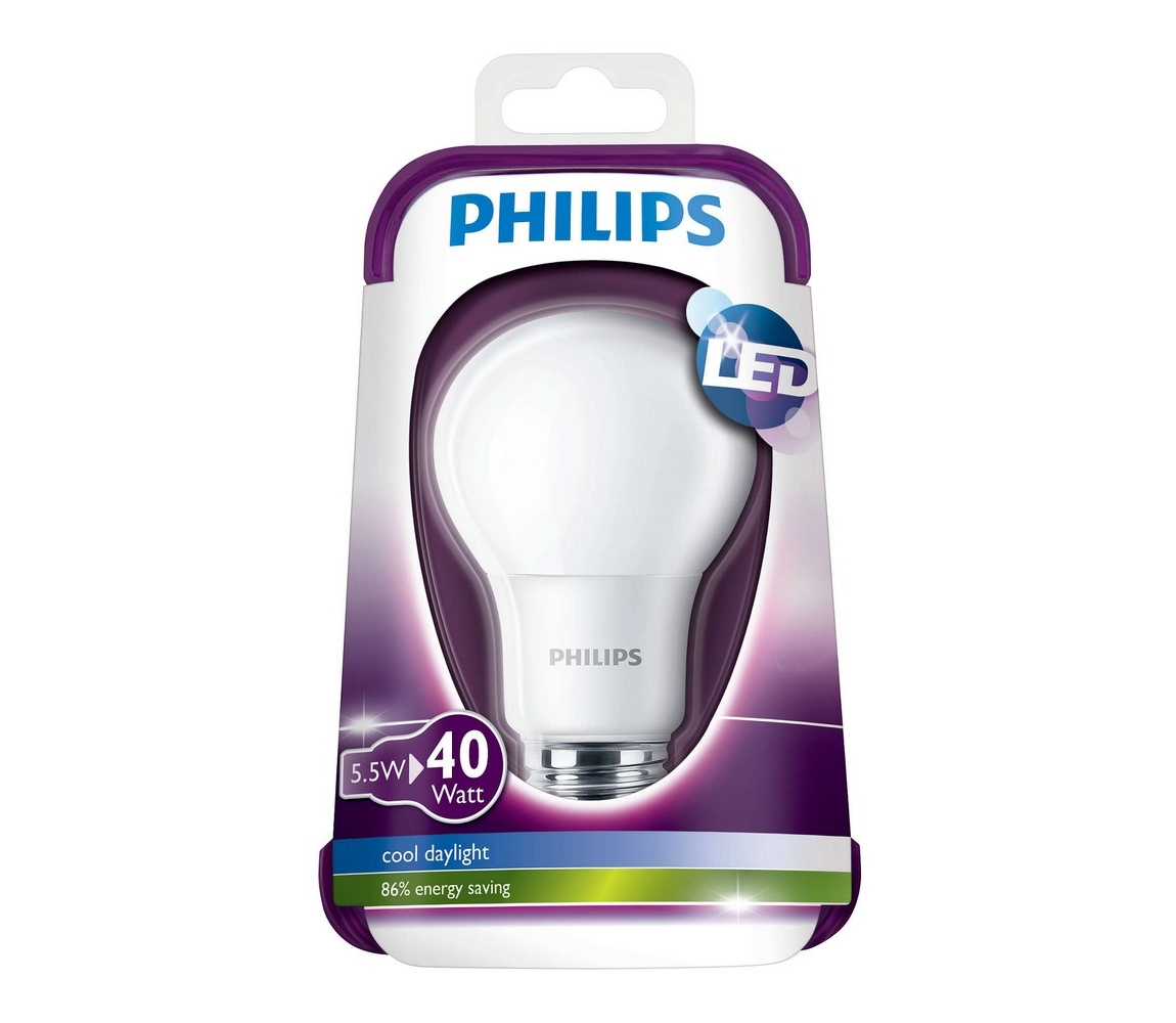 Philips LED žárovka Philips E27/5,5W/230V P1638