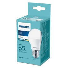 LED Žárovka Philips E27/9W/230V 3000K