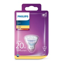 LED Žárovka Philips GU4/2,3W/12V 2700K