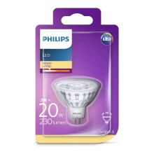 LED Žárovka Philips GU5,3/3W/12V 2700K