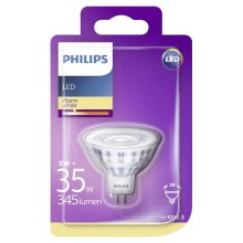 LED Žárovka Philips GU5,3/5W/12V 2700K
