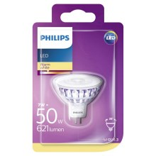 LED Žárovka Philips GU5,3/7W/12V 2700K