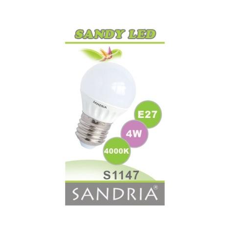 LED žárovka SANDY E27/4W/230V - Sandria S1147