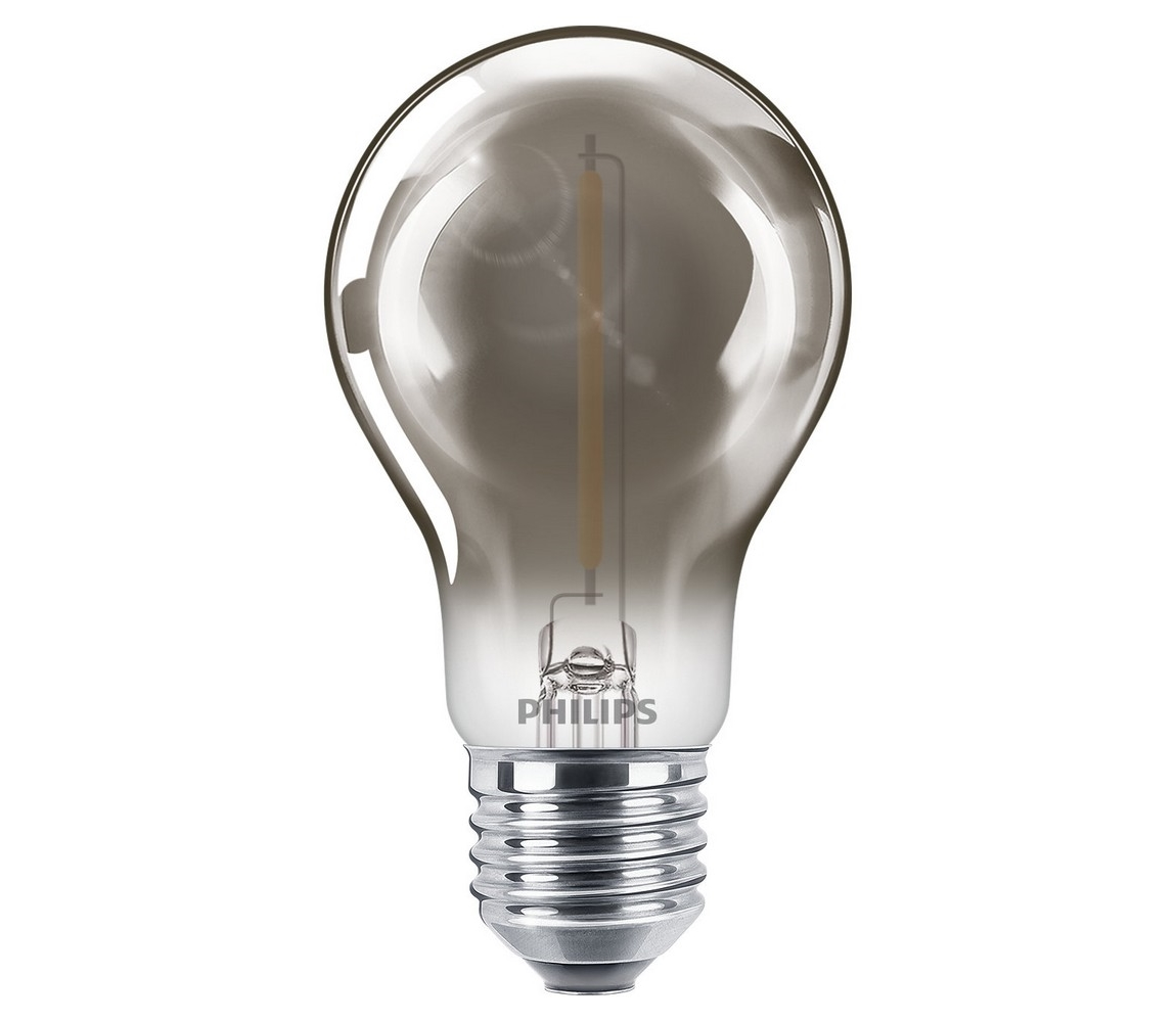 Philips LED Žárovka SMOKY VINTAGE Philips A60 E27/2,3W/230V 2700K