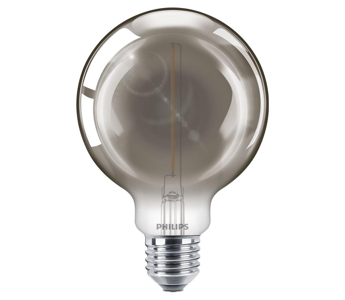 Philips LED Žárovka SMOKY VINTAGE Philips G93 E27/2,3W/230V 2700K