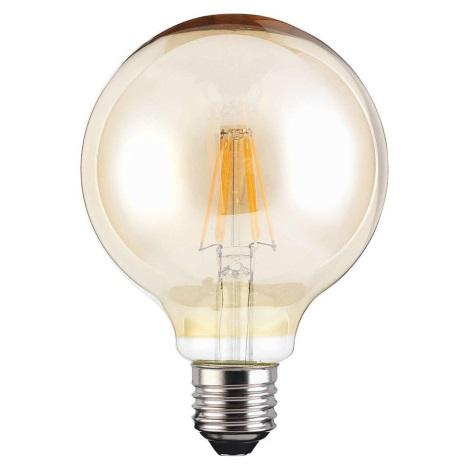 LED žárovka VINTAGE G95 E27/4W/230V 380lm