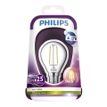 LED Žárovka VINTAGE Philips E14/2,3W/230V 2700K