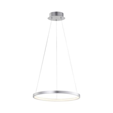Leuchten Direkt 11522-21 - LED Lustr na lanku CIRCLE LED/19W/230V