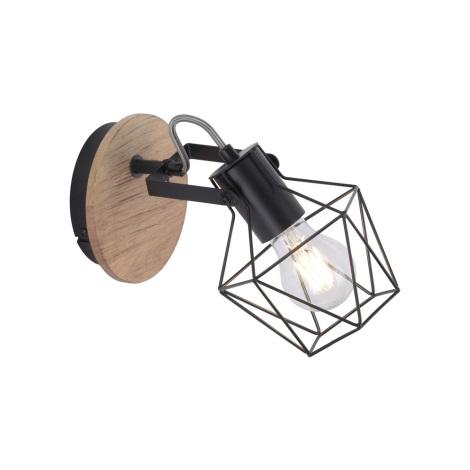 Leuchten Direkt 15671-78 - Nástěnné bodové svítidlo JARO 1xE27/60W/230V