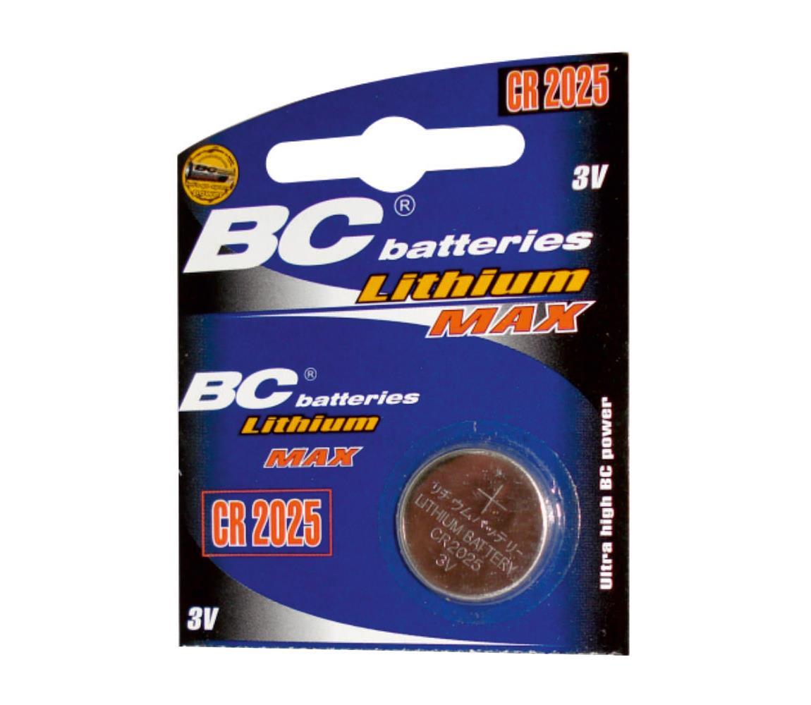 Baterie centrum Lithiová knoflíková baterie CR2025 3V