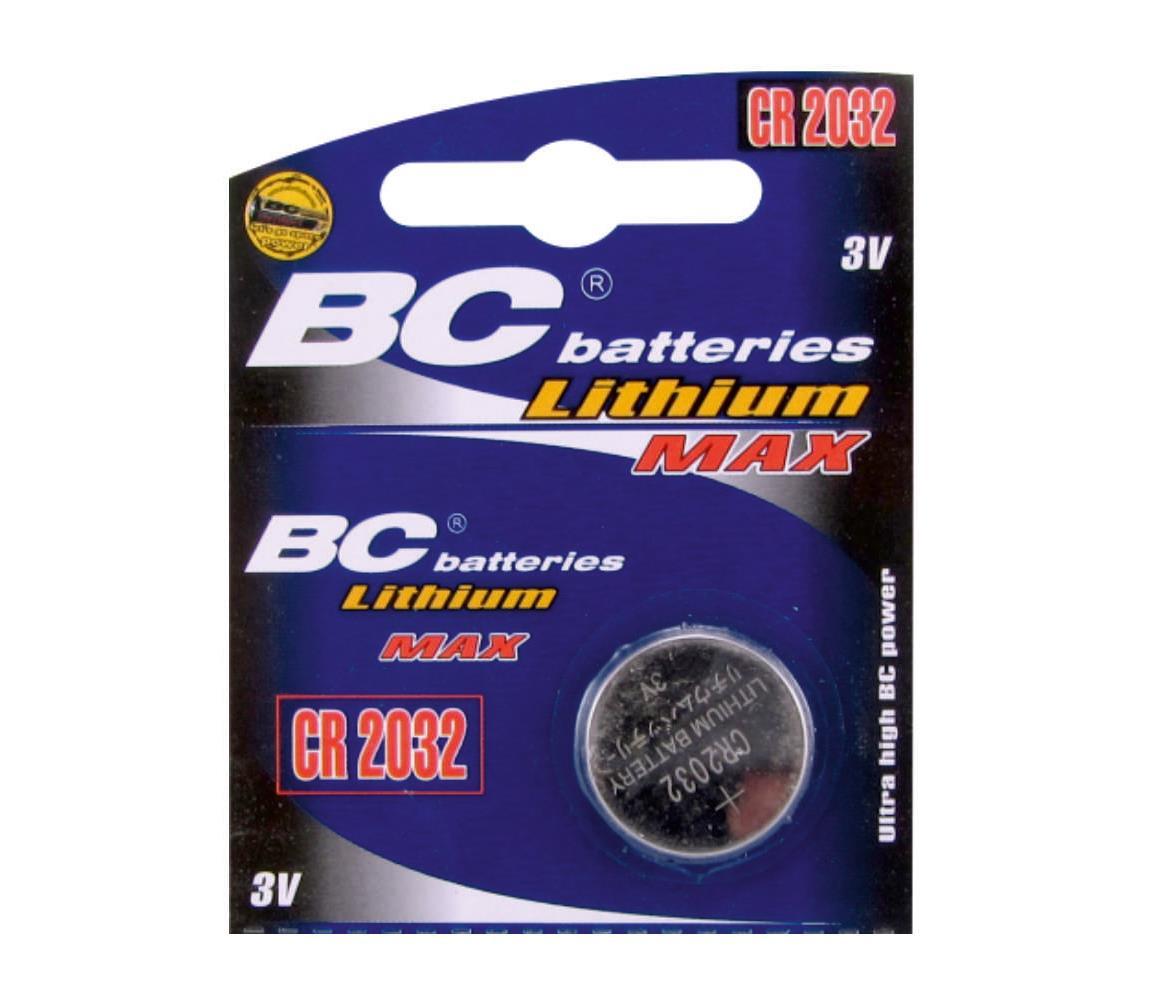 Baterie centrum Lithiová knoflíková baterie CR2032 3V BC0026