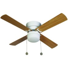 Lucci air 512106 - Stropní ventilátor NORDIC 1xE27/20W/230V