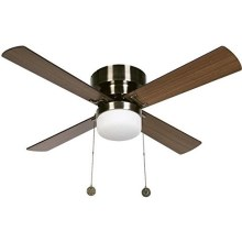 Lucci air 512108 - Stropní ventilátor NORDIC 1xE27/60W/230V