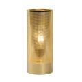 Lucide 03516/01/01 - Stolní lampa BELI 1xE27/60W/230V mosaz
