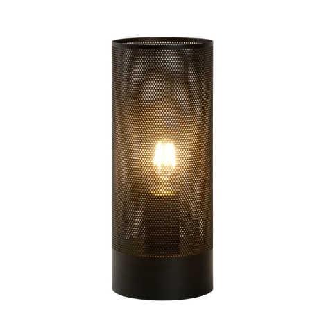 Lucide 03516/01/30 - Stolní lampa BELI 1xE27/60W/230V černá