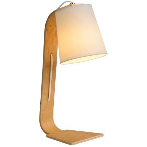 Lucide 06502/81/31 - Stolní lampa NORDIC 1xE14/40W/230V bílá