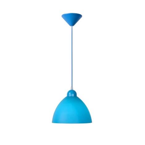 Lucide 08406/23/35 - Závěsné svítidlo COCO 1xE27/60W/230V modré