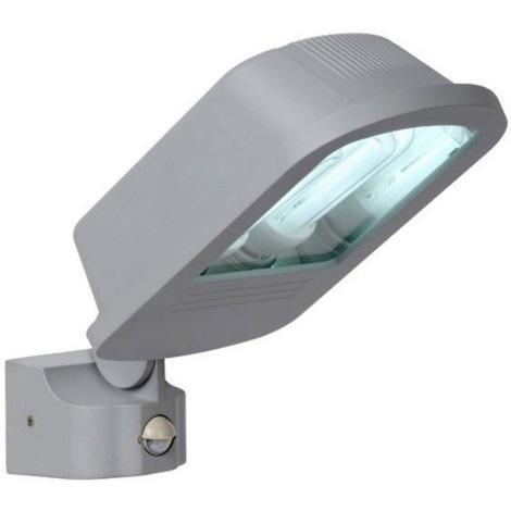 Lucide 11804/72/36 - Venkovní lampa se senzorem FLOODLIGHT 2xE27/23W/230V IP44