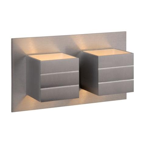 Lucide 17282/02/12 - Nástěnné svítidlo BOK 2xG9/28W/230V