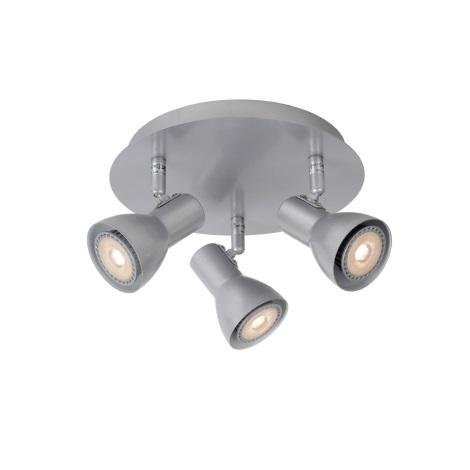 Lucide 17942/15/36 - LED bodové svítidlo LAURA-LED 3xGU10/5W/230V šedé