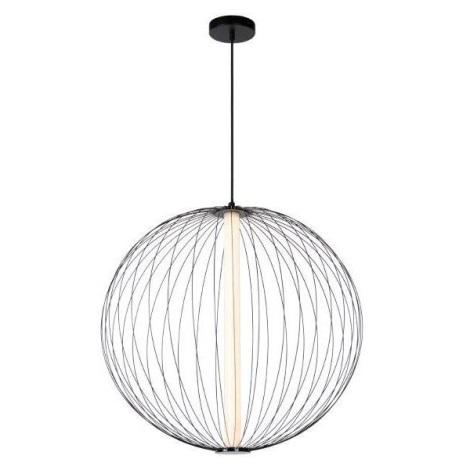 Lucide 20414/61/30 - LED Stmívatelný lustr na lanku CARBONY LED/10W/230V