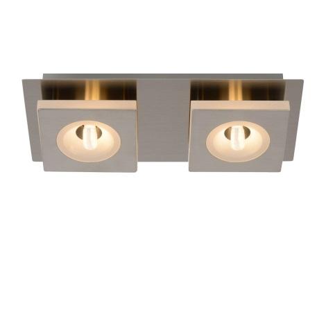 Lucide 26191/06/12 - LED stropní svítidlo AUDI LED 2xG9/2,5W/230V