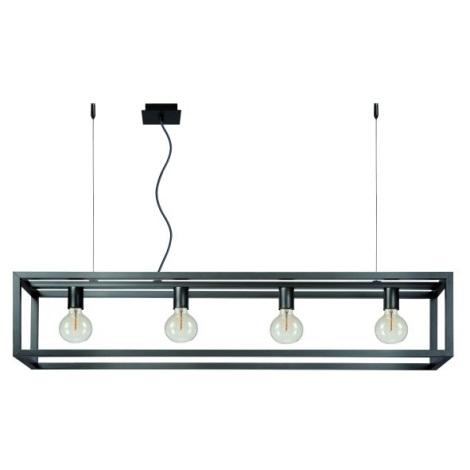 Lucide 31472/04/15 - Závěsné svítidlo ORIS 4xE27/60W/230V