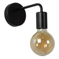 Lucide 45265/01/30 - Nástěnné svítidlo SCOTT 1xE27/40W/230V černé