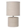 Lucide 47502/81/38 - Stolní lampa GREASBY 1xE14/40W/230V krémová