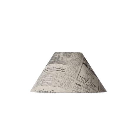 Lucide 61022/25/55 - Stínidlo noviny E27 pr. 25cm