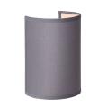 Lucide 61250/14/36 - Nástěnné svítidlo CORAL 1xE14/40W/230V šedé