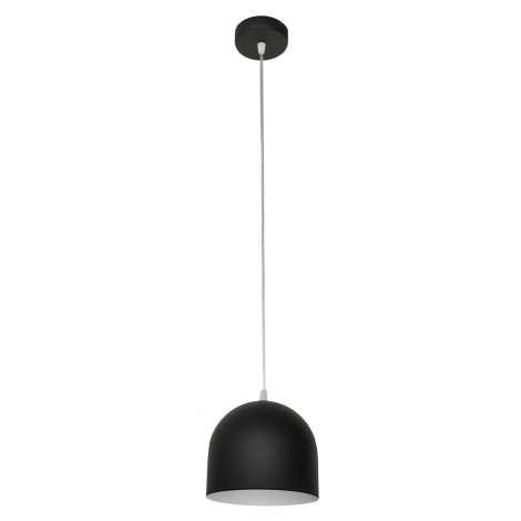 Lustr MADISON 1xE27/60W/230V černá