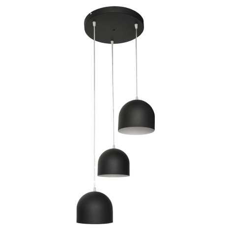 Lustr MADISON 3xE27/60W/230V černá